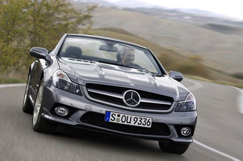2009-Mercedes-SL-Roadster