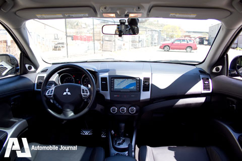 Mitsubishi Outlander 3rd Row Seat. It also had a third row seat;