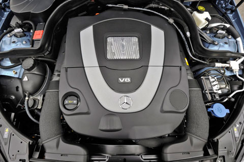 2011 mercedes cabriolet e550 engine