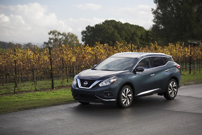 Nissan announces 2016 Murano U.S. pricing