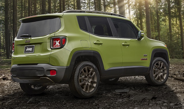 2016 Jeep® Renegade 75th Anniversary edition